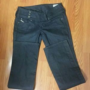 """Diesel Cherock Women Size 28Wx33""""L boot cut Jeans"""